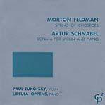 Morton Feldman - Ursula Oppens Spring Of Chosroes - Sonata For Violin And Piano